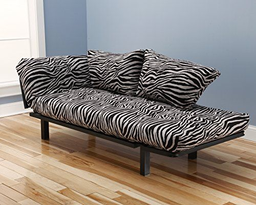 Spacely Black Metal Futon Frame with Zebra Zen Mattress M... https://www.amazon.com/dp/B01J4PPQA0/ref=cm_sw_r_pi_dp_x_iB5SybGTZYYS1