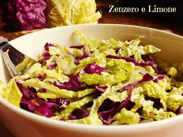 insalata col cavolo cappuccio - ricetta light