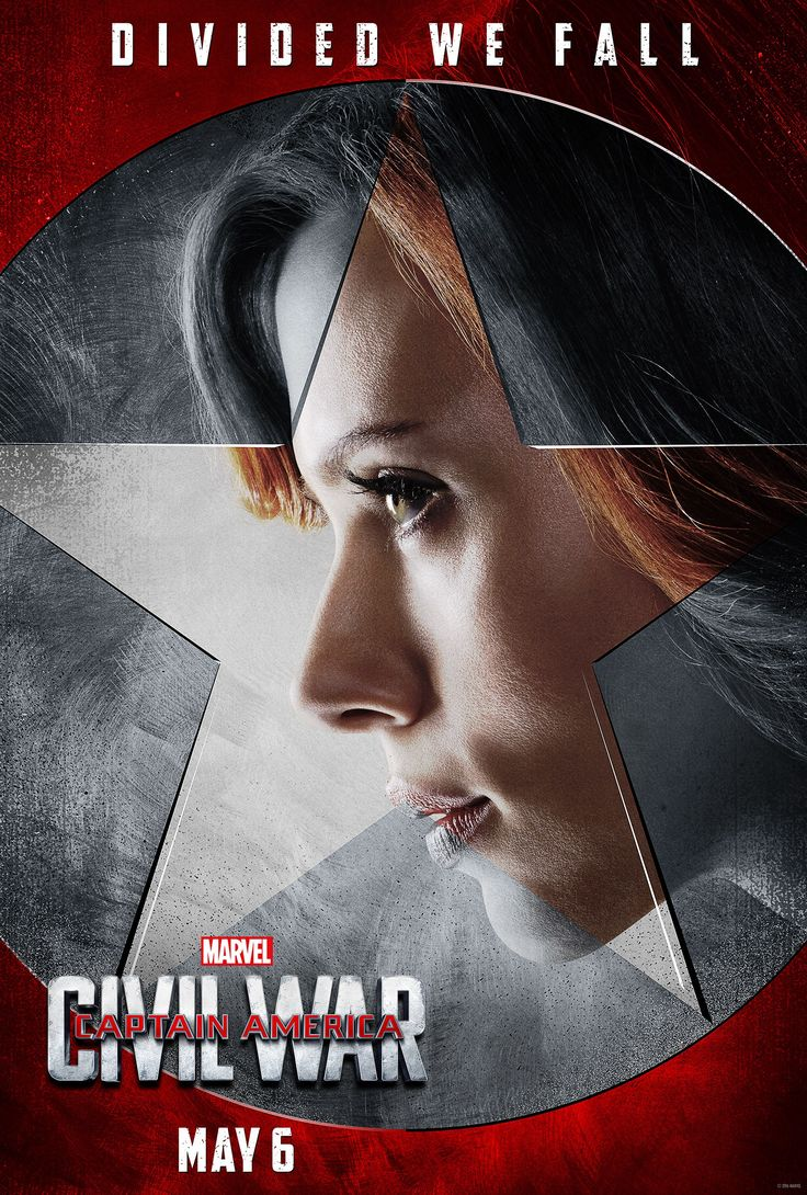 Affiche du film Captain America civil war de 2016 team iron man