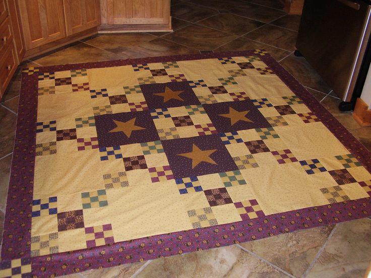 Primitive Quilt Almost Done Quilting Amp Stitchery