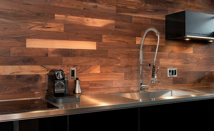 Herringbone Backsplash Laundry Room