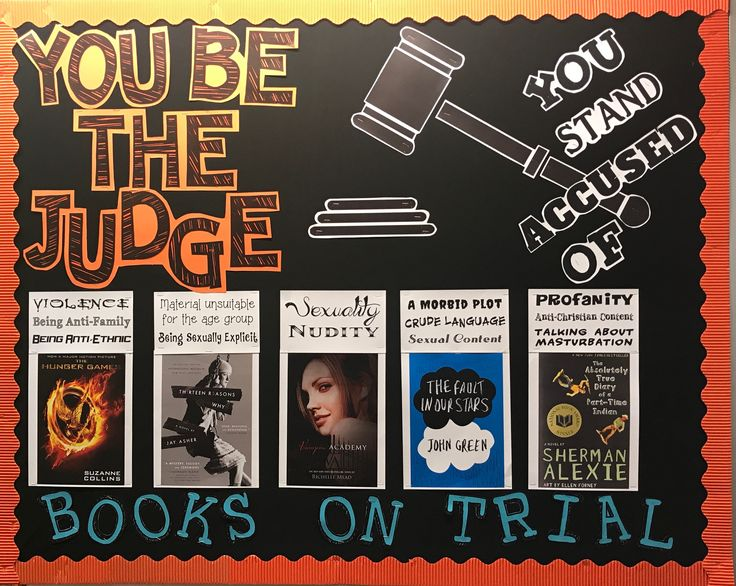 Banned Books Week; #bulletinboards; #bannedbooks; #bannedbooksweek; #librarybulletinboards; #censorship; #september; #teen; #bulletin; #public