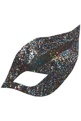 Multi Glitter Eyemask By Lilly Lewis For Topshop - New In This Week - New In - Topshop USA - StyleSays: Hats Eyemasks, Girl, Glitter Eyemask, Multi Glitter, Eye Multi, Lewis Eye, Lilly Lewis, Eyes