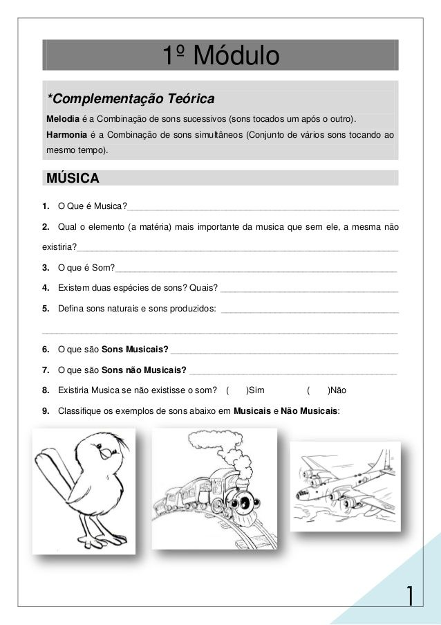 Caderno De Exercicios Mts Adulto 1 Com Imagens Atividades De