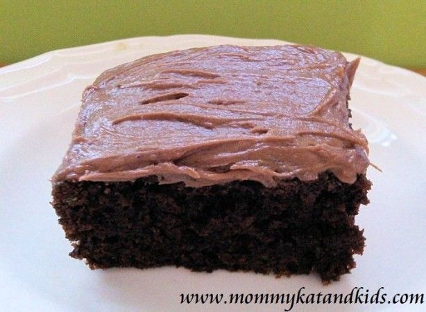 Kat's Chocolate Zucchini Squares with Chocolate Cream Cheese Icing-The Best-Ever Recipe For Your Extra Zucchini