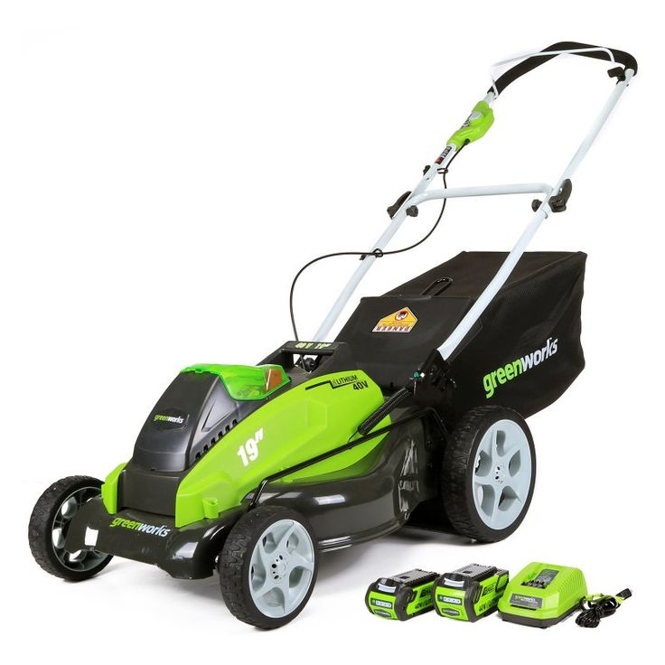 Greenworks G-MAX 19 in. Lawn Mower - 25223
