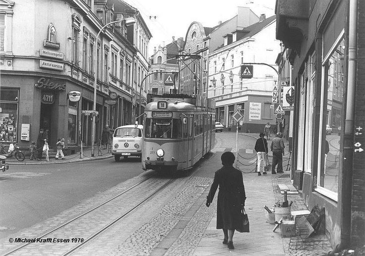 """Bochum Dahlhausen """"City"""" 1978 noch mit Drogerie """"Stens"""" (jetzt ist dort REWE Lenk)"""