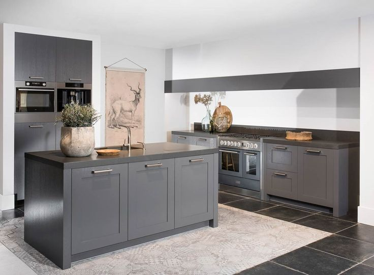 25 beste idee n over modern landelijke keukens op pinterest landelijke keuken eetkeuken en - Idee kleur moderne keuken ...