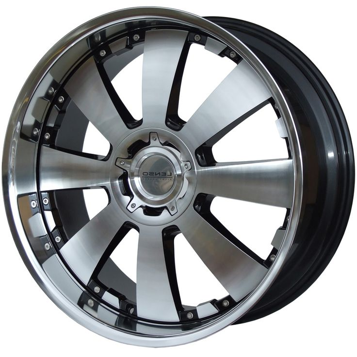 LENSO CONCERTO GLOSS BLACK POLISHED FACE&LIP alloy wheels with stunning look for 4 studd wheels in GLOSS BLACK POLISHED FACE&LIP finish with 18 inch rim size