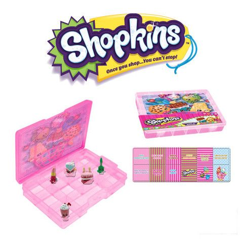 Shopkins carry case place your shopkins here i dont kown where to get iit but i find out i teel you guys