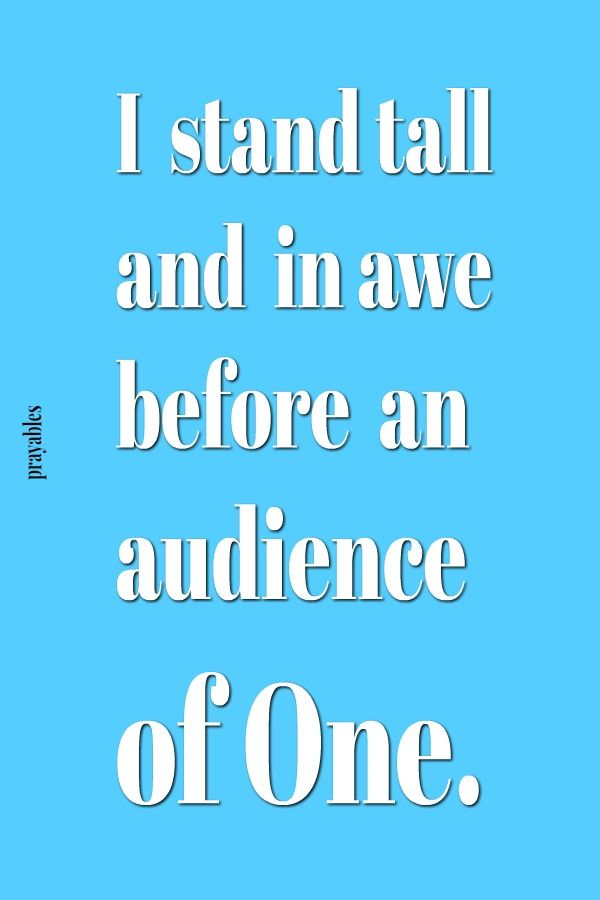 Image result for audience of one bible verse
