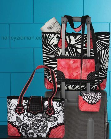 Designer Handbags, is the Sewing With Nancy streaming video feature this week at www.nancyzieman.com.