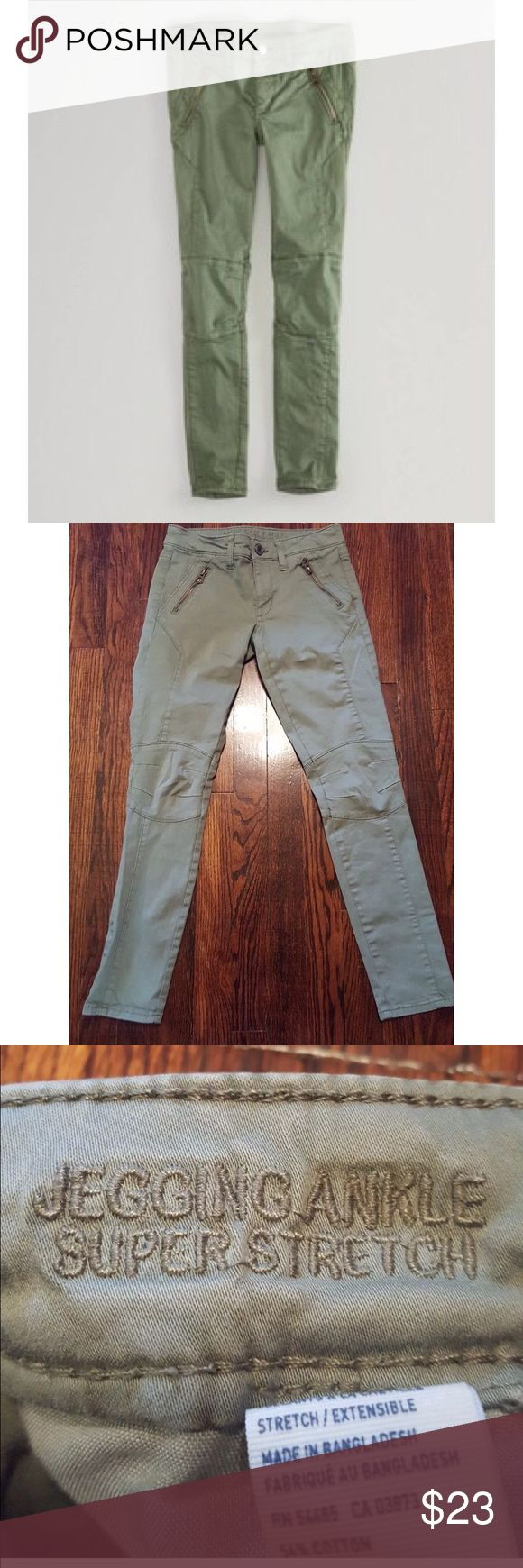 American eagle moto ankle jegging American eagle moto ankle jegging size 4! Super stretch. American Eagle Outfitters Jeans Ankle & Cropped