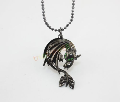 How to Train Your Dragon 2 Toothless Night Fury Animal Necklace Pendant New   eBay