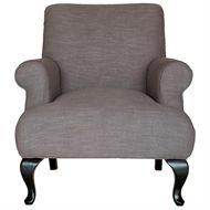 FAUTEUIL CALLOWAY BRUIN ROFRA Home meubelen en interieur accessoires