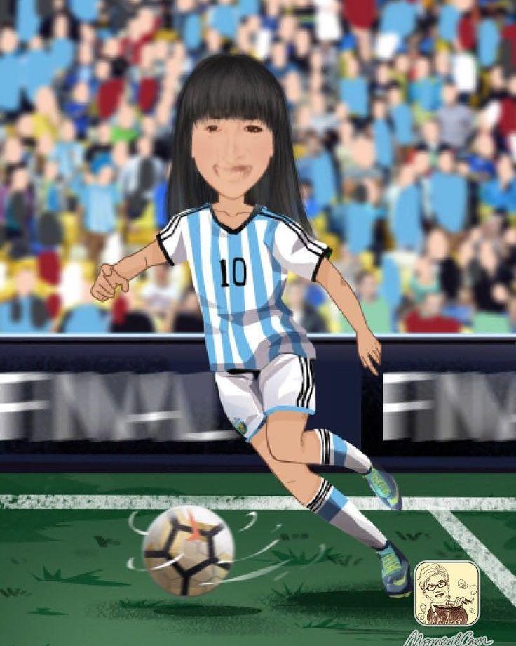 Hoy juega #argentina y sin #Messi yo me pongo la #10. Vamooooooo #worldcup2018