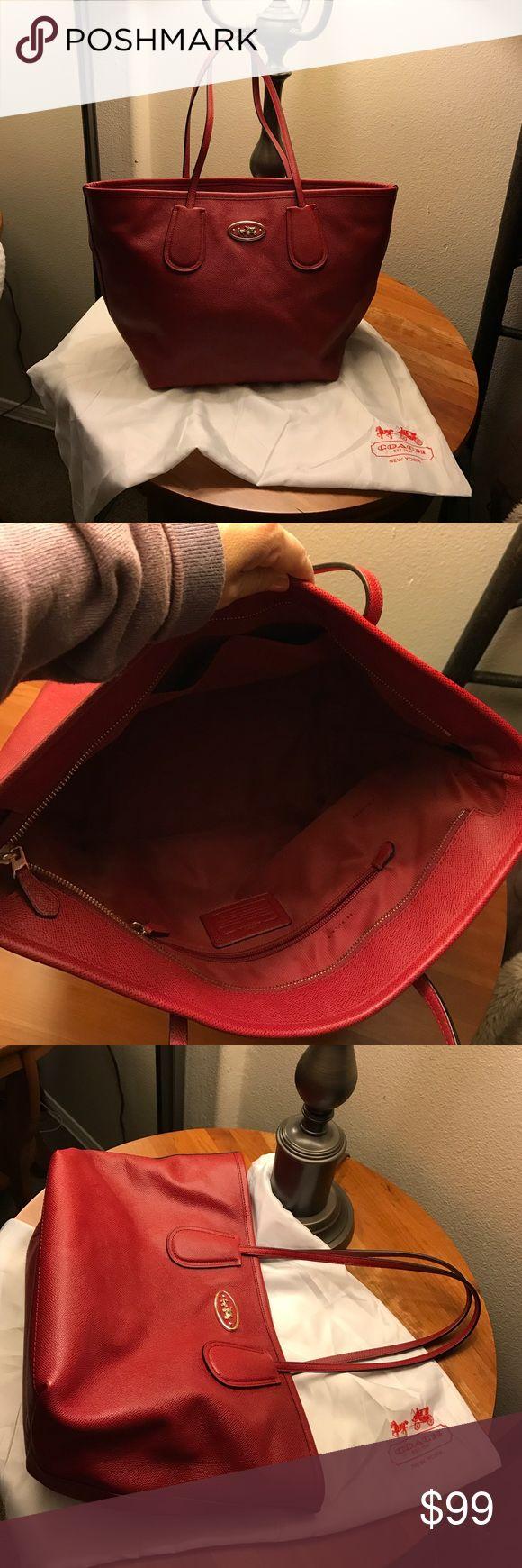 Coach purse Red beautiful hobo coach purse super clean coach Bags Hobos