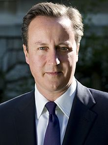 English Prime Minister David Cameron