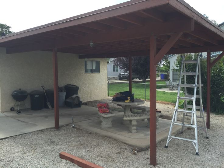 """""""BEFORE"""" patio fence project for my buddy"""