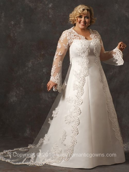 Love this Plus Size Wedding Dresses