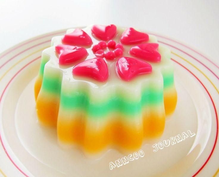 Anncoo Journal: Fancy Hearts Jelly
