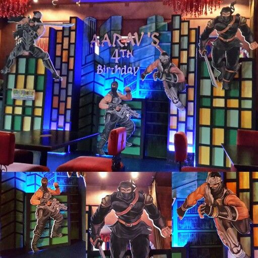 Aarav's #ninja #party by @wishmaster_eo at Maroush Jakarta
