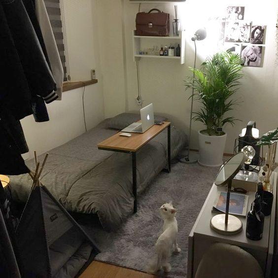 Küçük Yatak Odası İçin Modern Dekorasyon Fikirleri | Dubleks Ev Planları …