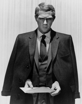 Steve McQueen in The Thomas Crown Affair directed by Norman Jewison, 1968