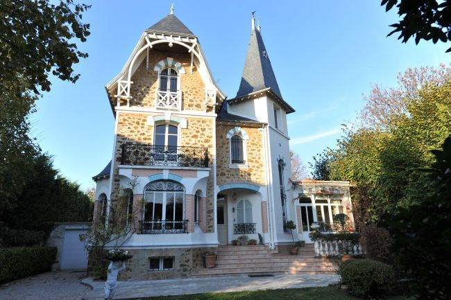 Belle demeure anglo normande home fa ade maison extension maison et le manoir - Extension maison normande ...
