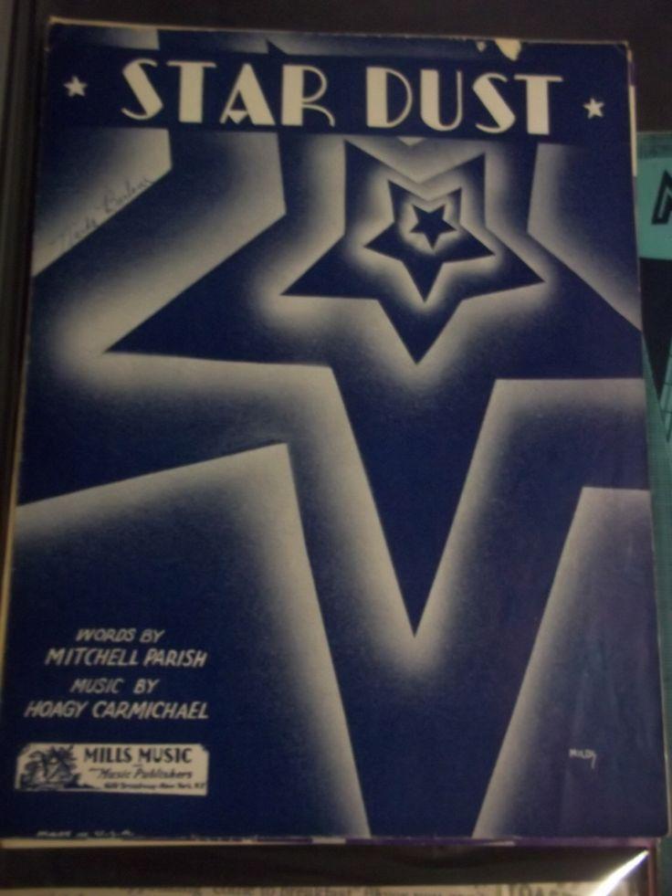 Hoagy Carmichael - Star Dust - Mills Music