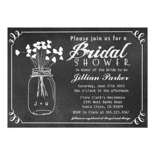 15 Best Bridal Shower Invitation Templates Images On