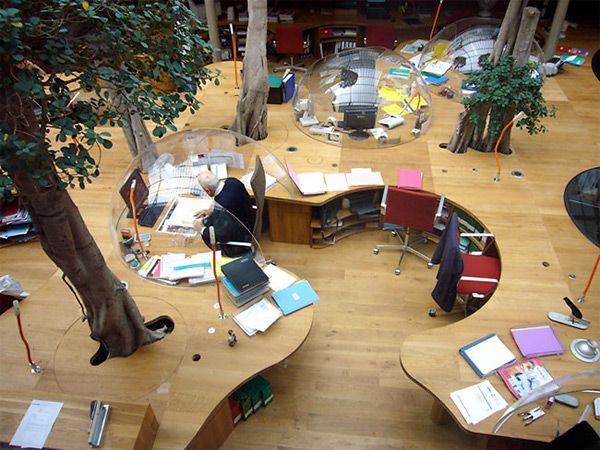 If hobbits had offices...