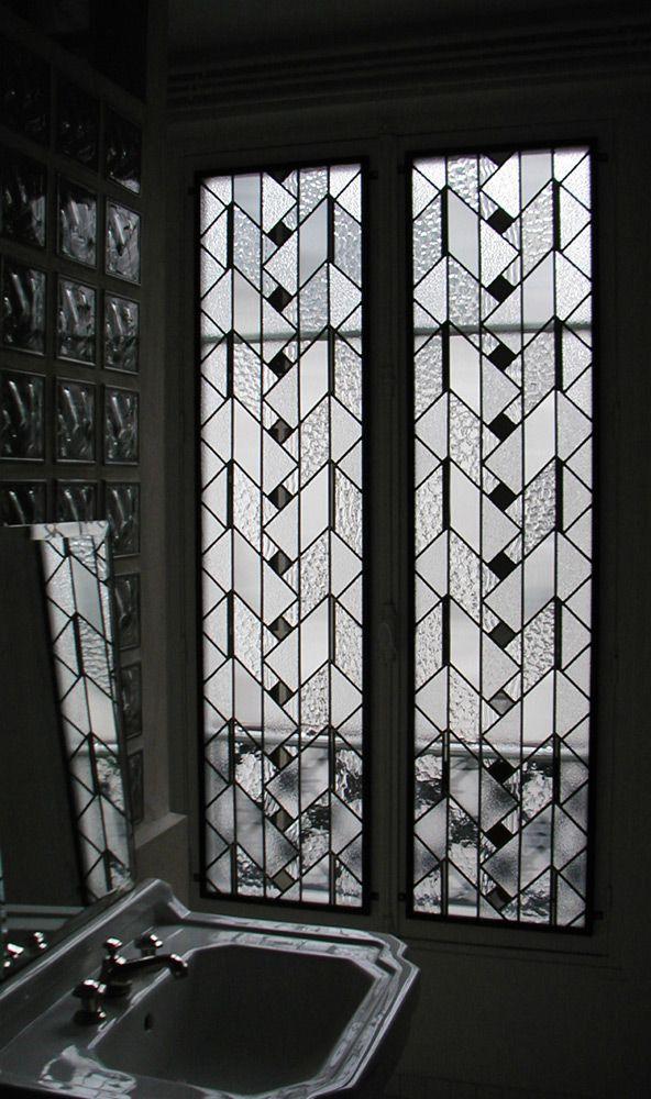 1000 id es sur le th me vitrail sur pinterest taches for Decoration fenetre vitrail