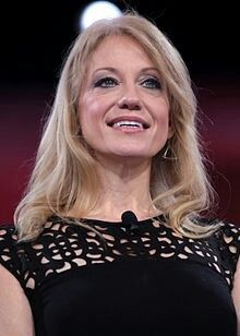 Kellyanne Conway first woman to head a winning Presidential campaign- 2016