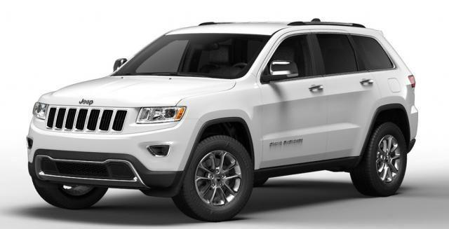 2014 Jeep Grand Cherokee White Limited #Jeep #Cherokee #Rvinyl =========================== http://www.rvinyl.com/Jeep-Accessories.html