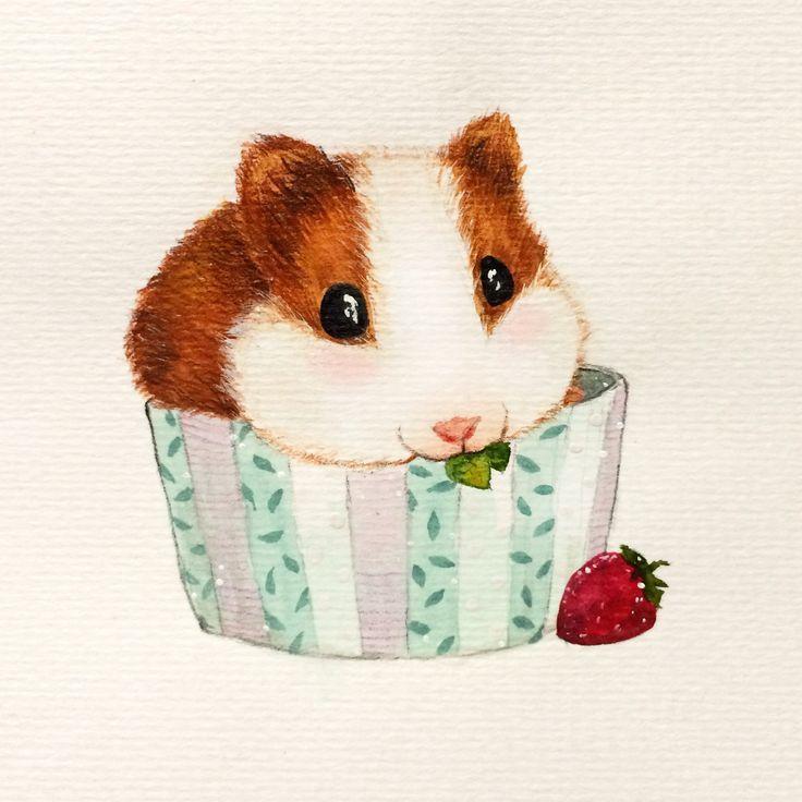 Hamster mollig