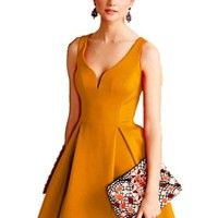 Retro kleid orange