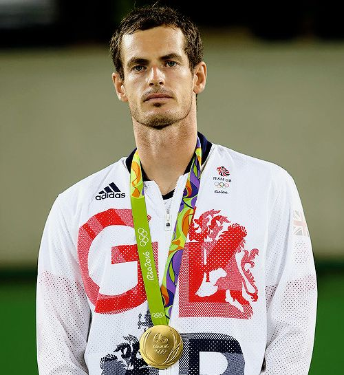 """"""""""" Andy Murray becomes the first tennis player ever with two singles Gold Medals at the Olympic Games winning in 2012 and 2016 """" """""""