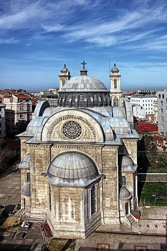 Iglesia de Hagia Triada, Estambul, Turquía