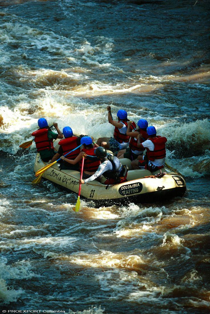 Rafting en Santander, aventura total #colombie