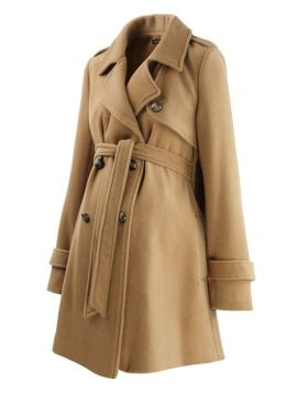 Could use a classic maternity coat in a neutral color for winter. Black or grey would probably be more my style.
