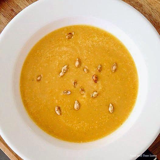 Butternut Squash Soup / Kurpitsakeitto