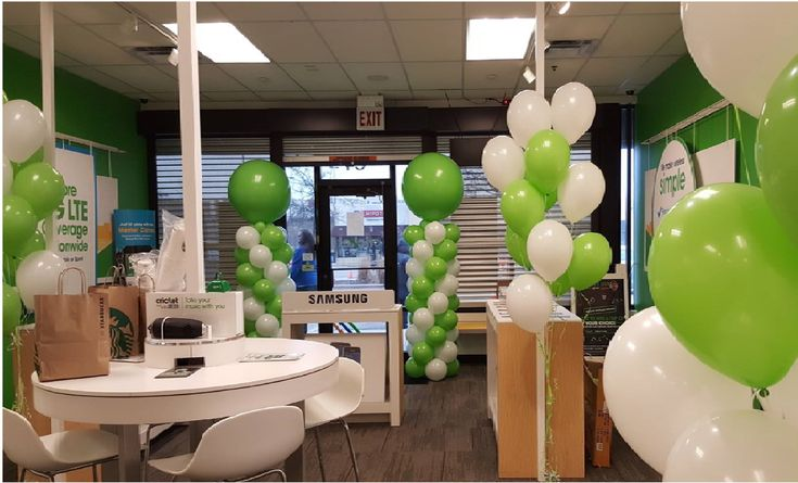 Our newest national account Cricket Wireless had balloons, tables and chairs, stanchions and outdoor patio heaters to make their event warm and cozy in Chicago today.   #balloons, #balloondecorating, #lotparty.com,  #cricketwireless