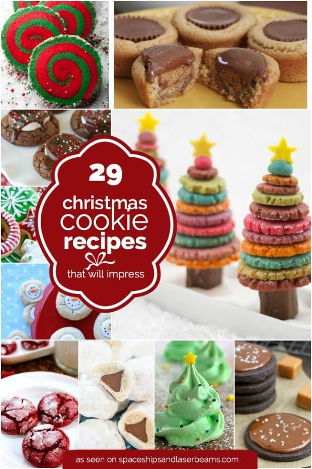 Easy Christmas Cookie Recipe Ideas CHRISTMAS 2 in 2018 Pinterest