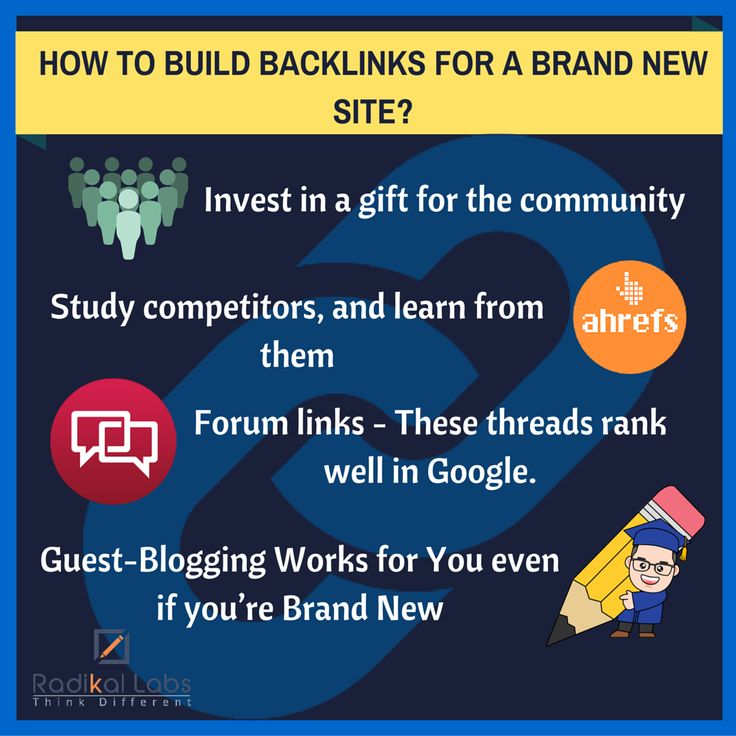 Effective ways to build links specifically tailored towards new sites. These are the links that actually matter. If you get a few dozen of them, you will see an immediate impact on your #traffic levels. #seo #backlinks