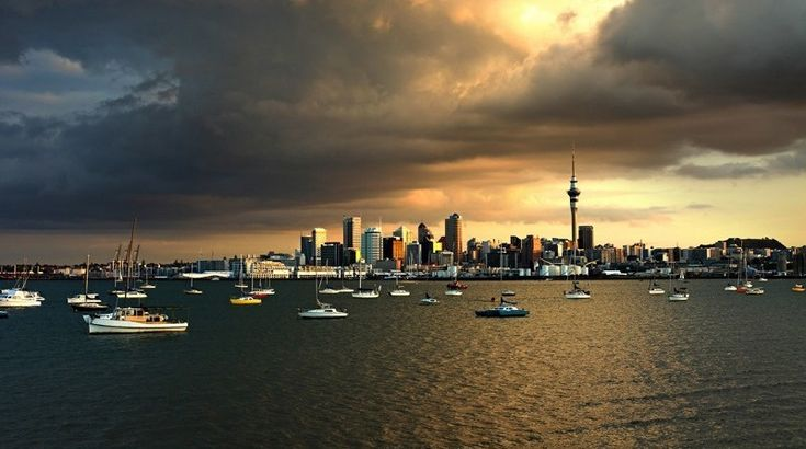 Auckland by Karl Hipolito