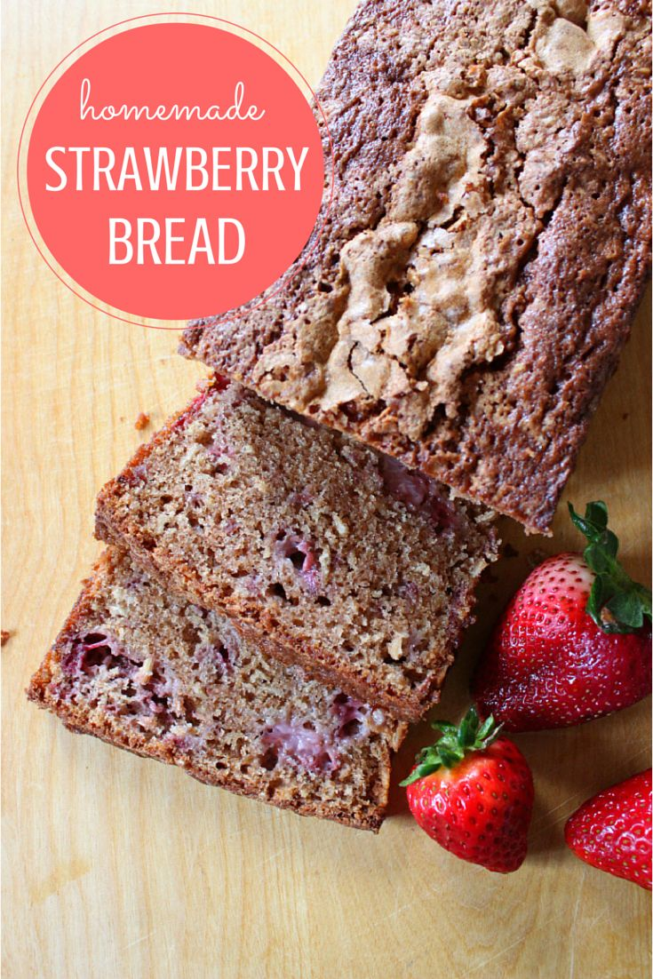 Fresh Strawberry Bread Recipe — Dishmaps