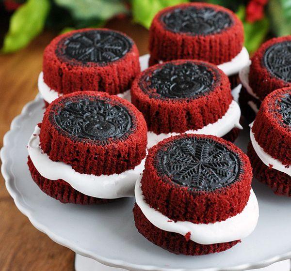 Food Recipes, OREO Stuffed Red Velvet Cupcakes, Food Recipes Sharing Community, Food Recipes By Country