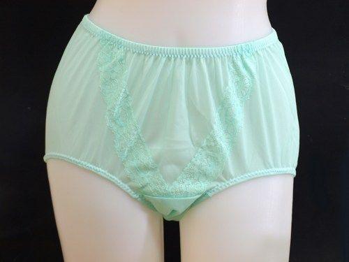 Lingerie Vintage Panties Nylon Panties Size 7 Pink Nylon
