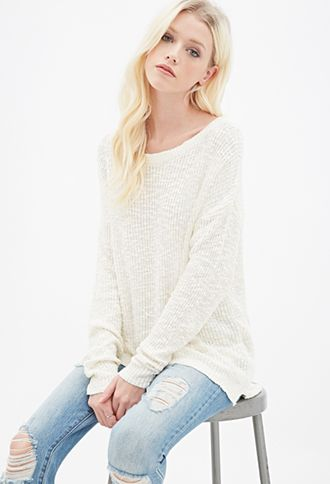 Textured Knit Sweater | FOREVER21 - 2000134657